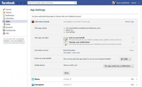 Ska du Tillåt Facebook Applications till Access ditt barns information?